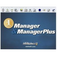Auto repair software Mitchell Manager Plus 5.9 with 2013 year 2.39GB mitchell manager auto data software in cd free shipping