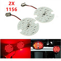 2X Red Motocicleta SMD Luz Do Painel Lâmpada LED 1156 Rear Turn Signal Para Harley Davidson Touring