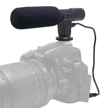 Mcoplus Mic-01 Stereo Camcorder Microphone for Canon Nikon Pentax Olym