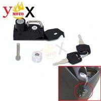 Scooter Motorcycle Helmet Lock W/ Keys Anti thief Padlock For YAMAHA NMAX125 (SE86J) 2DS2 (SED6J) BV35 / NMAX155 (SG50J) BV43