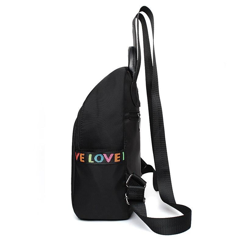 Women Waterproof Casual Backpack Middle School Designer Bookbag Teenager  Love Print Stripe Backpacks Female Bolsa Travel Bags-in Backpacks from  Luggage ... ee51f33a46