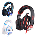 KOTION EACH G8200 Gaming Headphone Vibration USB Headset With Microphone Music Game Enjoy Atmosphere Creator for LOL DOTA2 MORPG