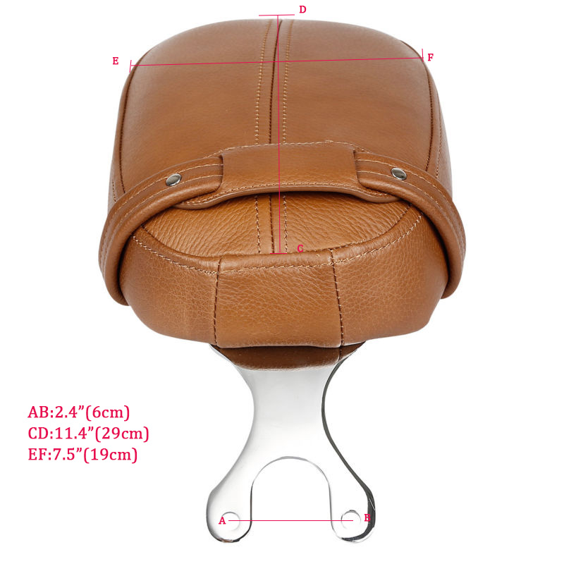 Leather Passenger Pillion Seat For Indian Scout Models 2015-2018 Scout Sixty 2016-2018