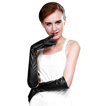 2018 Time-limited New Arrival Solid Women Tactical Gloves Womens Winter Opera Long Evening Texting Touchscreen Leather Gloves