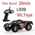 Incrível WLtoys L939 Alta Velocidade 2.4G mini Carro RC Carro de Drift 5 Nível de Velocidade Mudança Full-Escala de Direção Brinquedos de Controle remoto