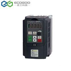 Mini Convertitore di Frequenza 0.75 1.5 2.2kw 220 v Monofase 380 v 3 Fasi di Ingresso VFD Convertitore di Frequenza