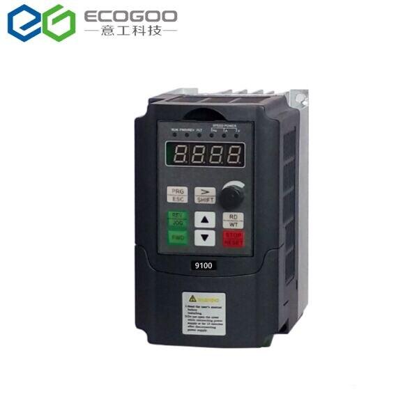 Mini convertidor de frecuencia 380 1,5 2.2kw 220 V monofásico 0,75 v 3 fases entrada VFD inversor de frecuencia