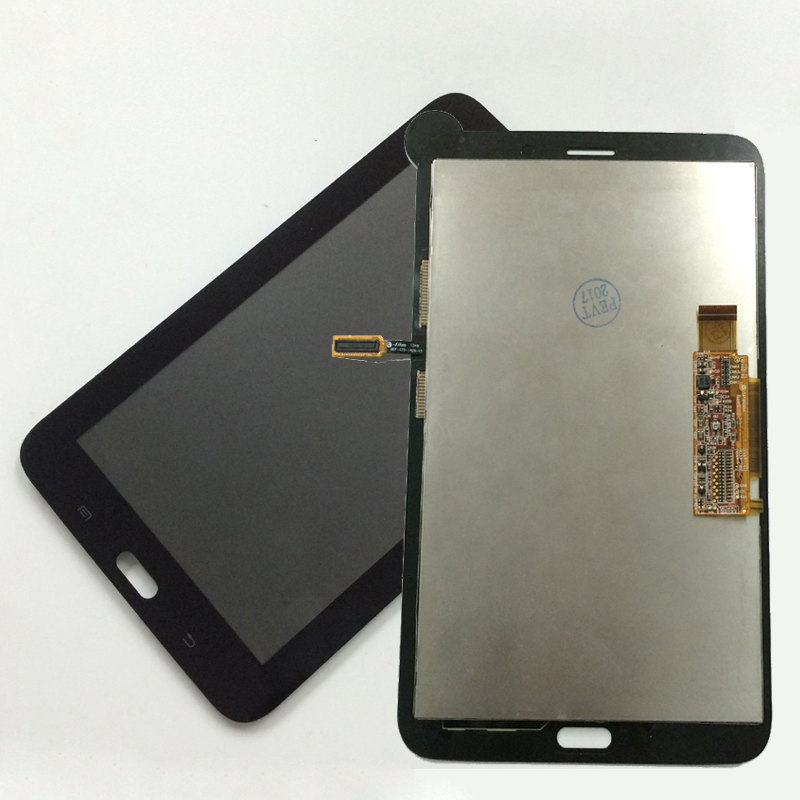 Black For Samsung Galaxy Tab 3 Lite T111 SM-T111 Touch Screen Digitizer Sensor Glass + LCD Display Panel Monitor Assembly