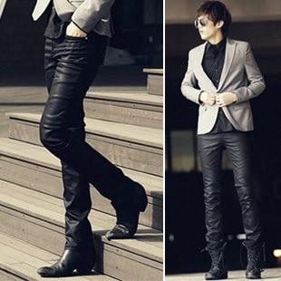 Aliexpress.com : Buy Korean fashion waterproof pants leather pants ...