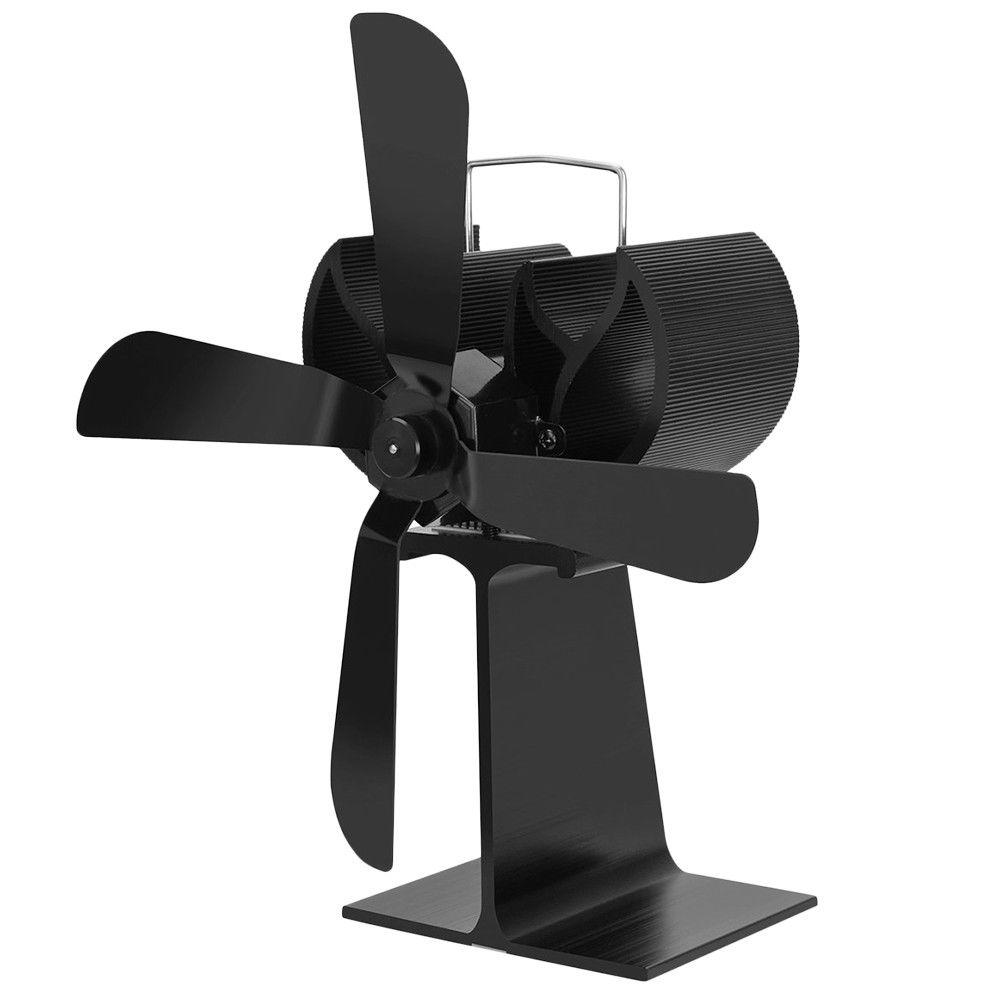 Heat Powered Stove Fan | Wood Log Burner Fireplace | Eco Friendly Home Accessory