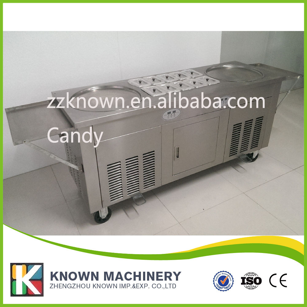 frying ice cream pan machine for sale with fried ice rolls use ice cream powder and milk frying ice cream pan machine for sale with fried ice rolls use ice cream powder and milk