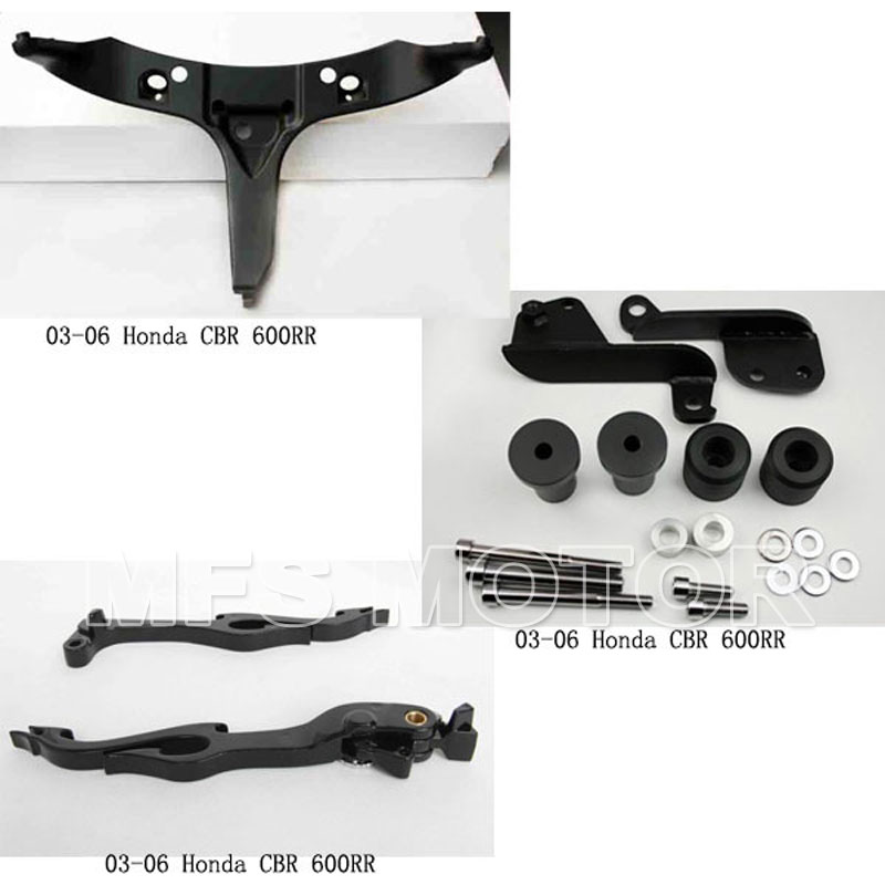 ФОТО Motorcycle Accessories Handle Lever Frame Slider fairing bracket for Honda 2003 2004 2005 2006 CBR600RR