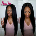 Lace Front Human Hair Wigs With Baby Hair Brazilian Straight Lace Front Wigs 100 Full Lace Human HairWigs For African Americans