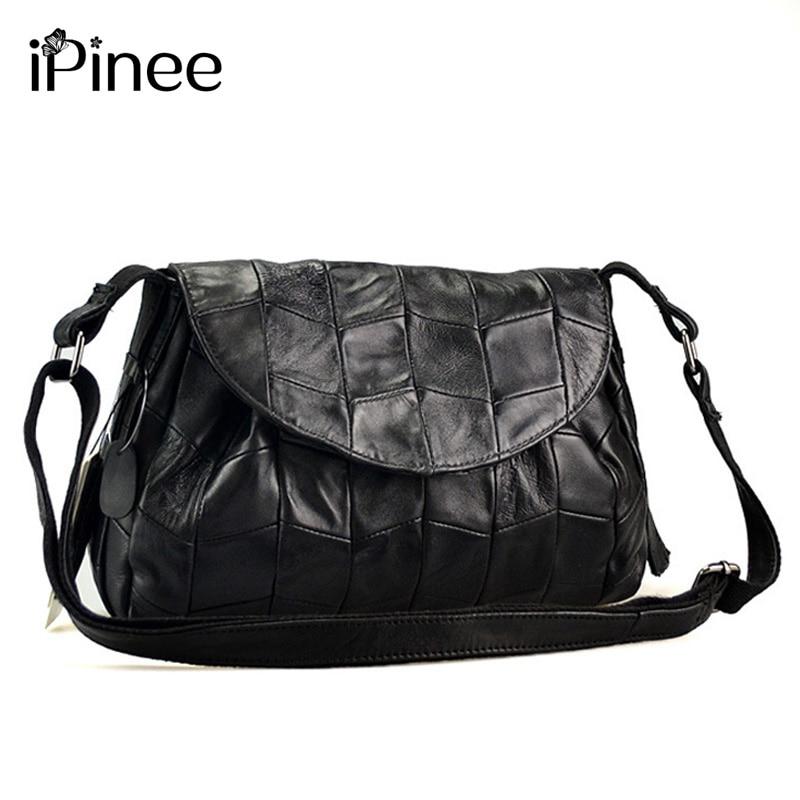 iPinee Vintage Fashion Crossbody Bags For Women Dumpling Bag Genuine Leather Shoulder Bag Handbags fashion women genuine leather handbags large capacity tote bag oil wax leather shoulder bag crossbody bags for women