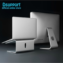 Dsupport AP-2 Aluminum 360 Degree Rotating Adjustable Laptop Stand Angle 15 degree for Home/Office11-17 inch Notebook