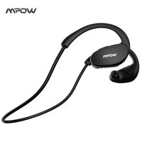Mpow Bluetooth 4 1 Headphones Sweatproof Sport Earphones For Running Gym Exercise With Hands Free Calling