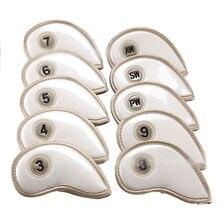 10 шт защитные чехлы из ПУ кожи для гольфа