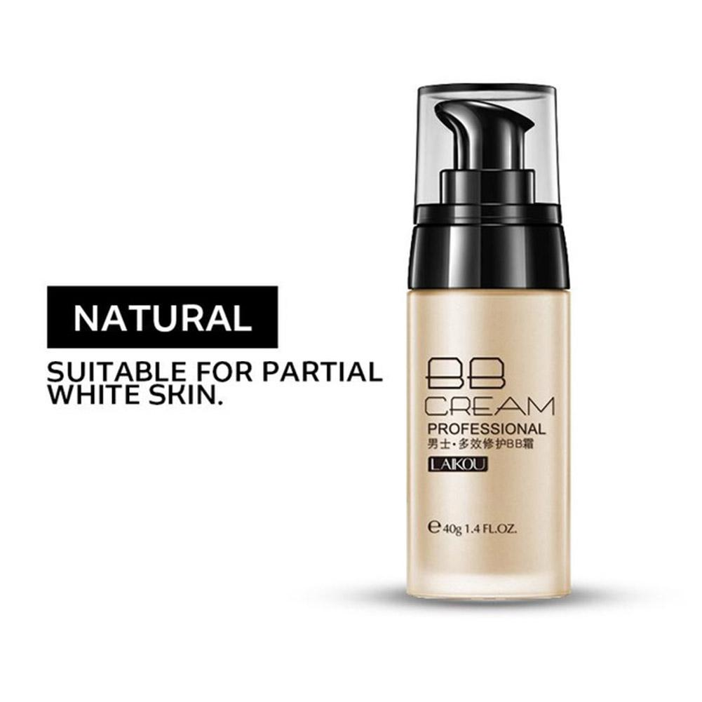 DSstyles Men BB Cream Face Cream Natural Whitening Beauty Skin Care Concealer Face Foundation Liquid Makeup Korean Cosmetics in BB CC Creams from Beauty Health