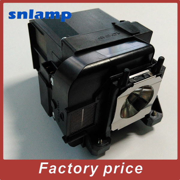 Projector Lamp ELPLP77//V13H010L77 Bulb with housing for PowerLite 4650 PowerLite 4750W PowerLite 4855WU