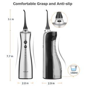 Image 5 - Oral Irrigator şarj edilebilir diş duşu taşınabilir diş Irrigator diş temiz ağız diş ipi su jeti irrigator
