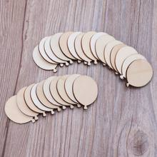 25pcs Laser Cut Wood Balloon Embellishment Wooden Shape Craft Wedding Decor(China)