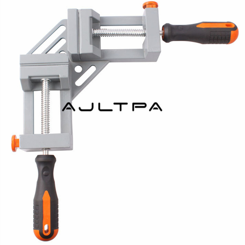 20Pcs Right Angle Clamp Woodworking Tools Jigs Double Handle 90 Degree Right Angle Clips Quick Corner Clamps H4359