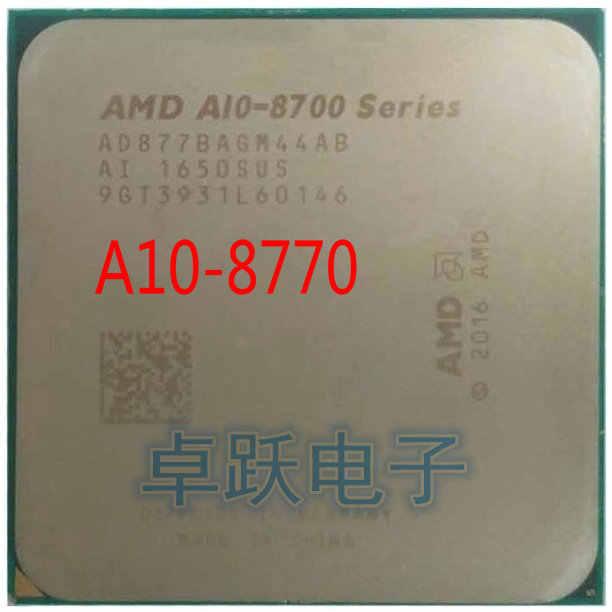 AMD A10-Series PRO A10-8770 A10 8770 3.5 GHz czterordzeniowy procesor cpu AD877BAGM44AB gniazdo AM4 darmowa wysyłka