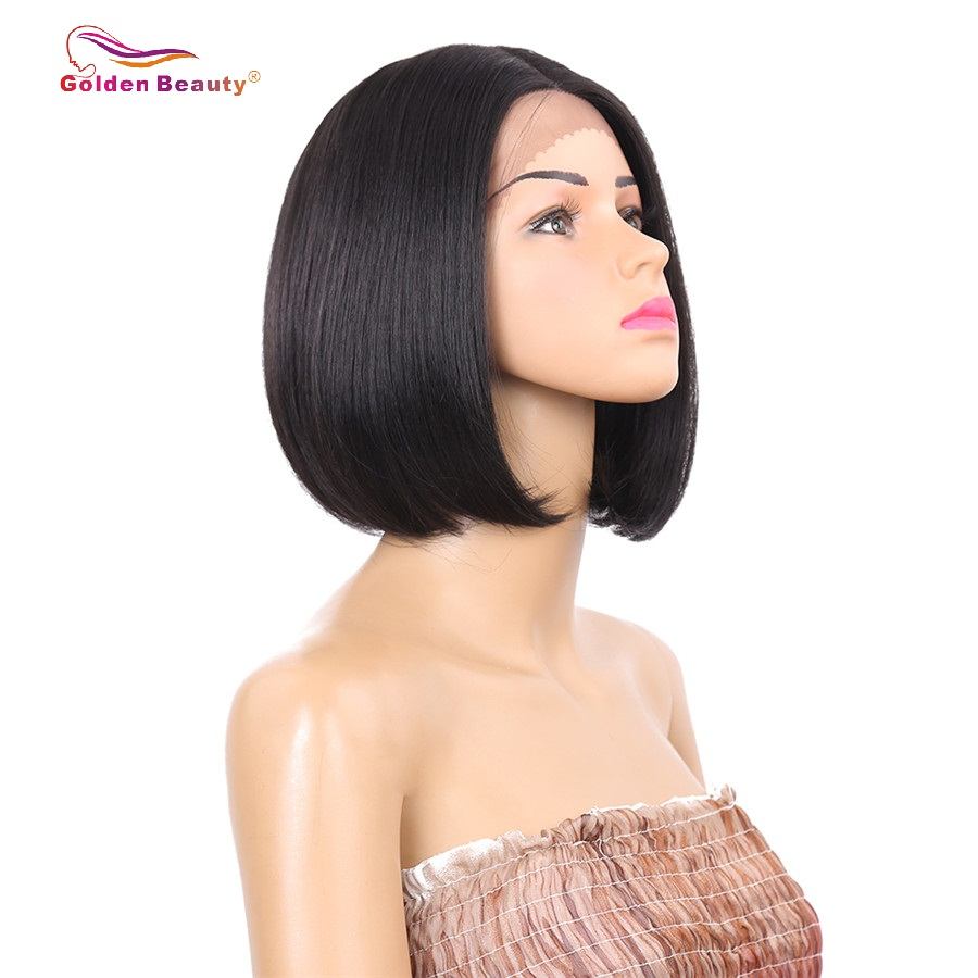 Imported From Abroad Sylvia Side Part Blonde Color Body Wave Hair Wigs Synthetic Wigs For Women Party Hair Natural Hairline Heat Resistant Fiber Hair Synthetic None-lacewigs