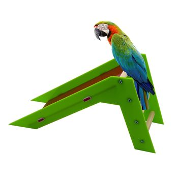 1PCS Parrot Products Birds Toys Puzzle Interactive Toys Skills Training Parrot Slippery Steps Ladder Slides