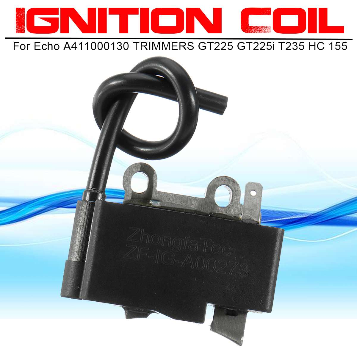 New 1 PCS Ignition Coil Replacement For Echo A411000130 TRIMMERS GT225 GT225i HC161 SRM225i SRM225SB GT