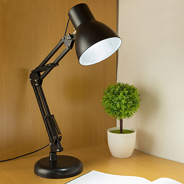 home office lamps.  Lamps Table Lamp Flexible LED Home Office Metal Building  Adjustable Push Button Switch Inside Lamps T