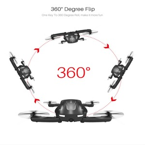 Image 2 - Foldable RC Drone SYMA Z1 HD Camera 2.4Ghz 6 axis Remote Control Wifi Qudacopter 4CH Smart RC Drone Optical Flow Positioning