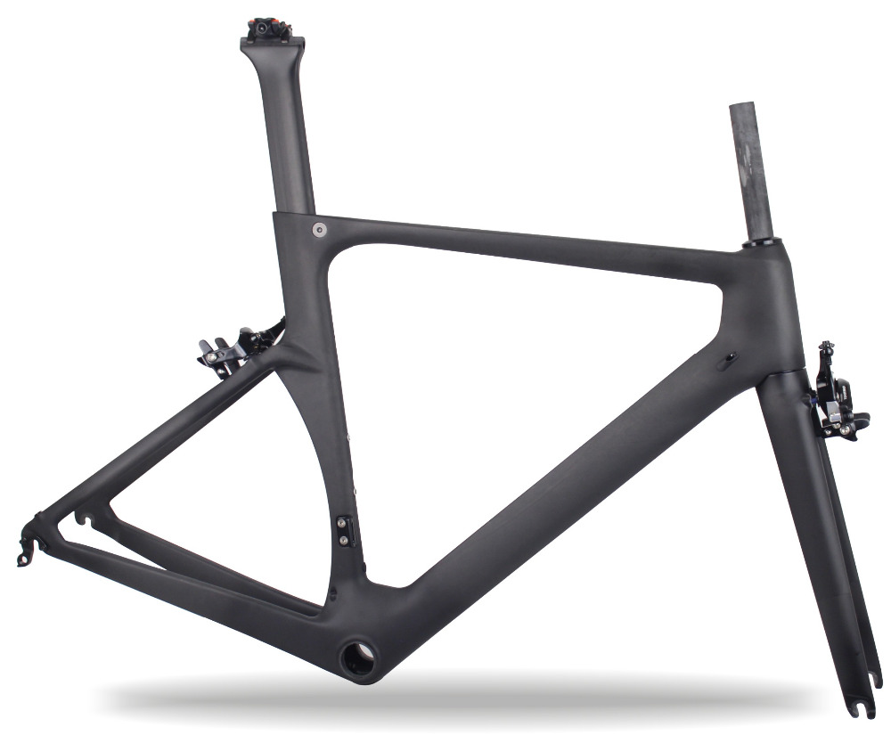2017 miracle carbon road bike frame racing bike frame aero design carbon road frame bicycle frame