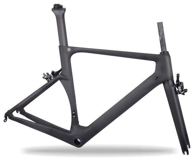 Cadre de vélo de route en carbone Miracle 2019 cadre de vélo de course Aero Design cadre de route en carbone cadre de vélo 49 cm, 52 cm, 54 cm, 56 cm, 59 cm