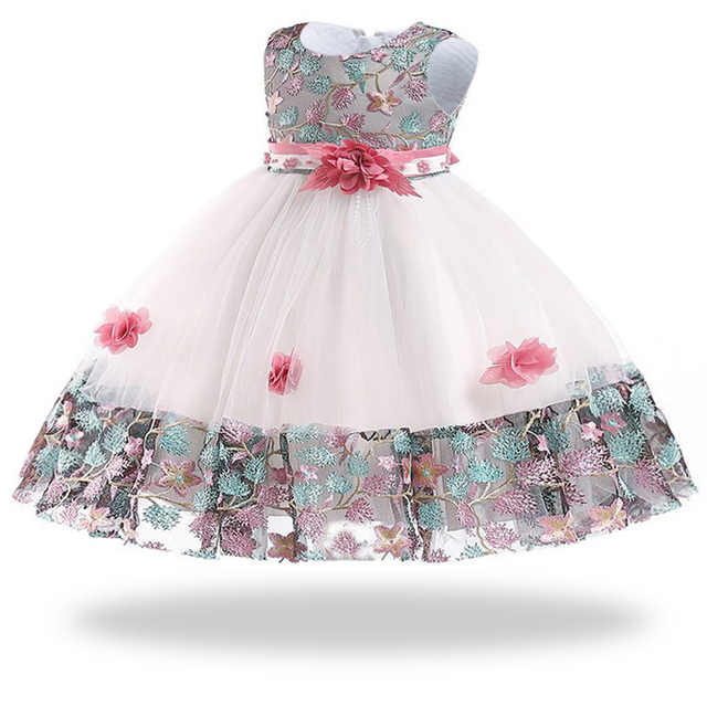 d98fe9c55 Winter Baby Girl Dress Infantil 2018 Princess Christmas Dress For Girls  Kids First Birthday Girl Party