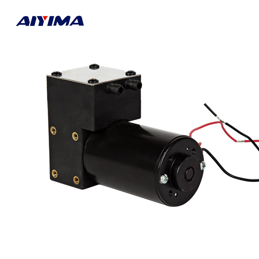 Aiyima DC 12V 10L/Min Micro Vacuum Pump Single Head High Negative Pressure No leakage Air Pump For Beauty Equipment High Current vacuum pump inlet filters f007 7 rc3 out diameter of 340mm high is 360mm