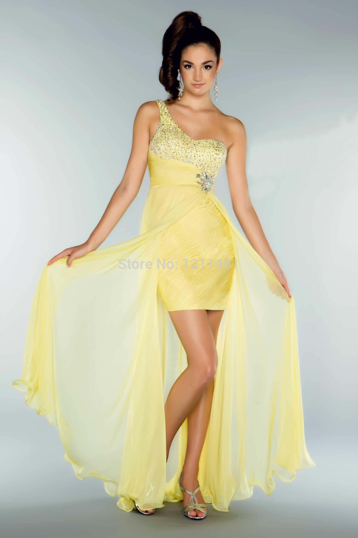 Floor Length Bridesmaid Dresses Asian Grey Teen One Shoulder Adult ...