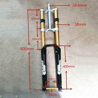ZOOM 680DH Fork 29 mtb mountain bike Suspension DH fork Alloy Downhill fork for mountain bicycle 29inch