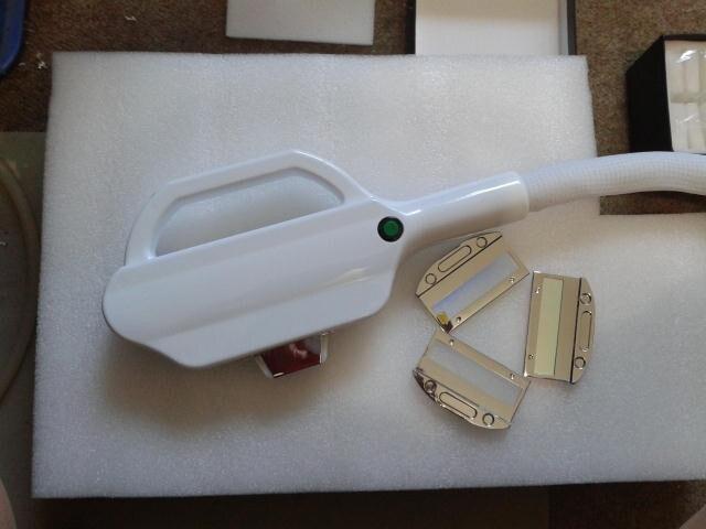 E-light/poignée de chargement initial avec la taille de tache de 12*30mm pour tous les accessoires de machine de beauté de machine de la chine