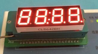 10 шт. общий анод 4bit 4 Бит Цифровой Tube 0.56 дюймов красный светодиод с часами Цифра 7 сегмента (часы)