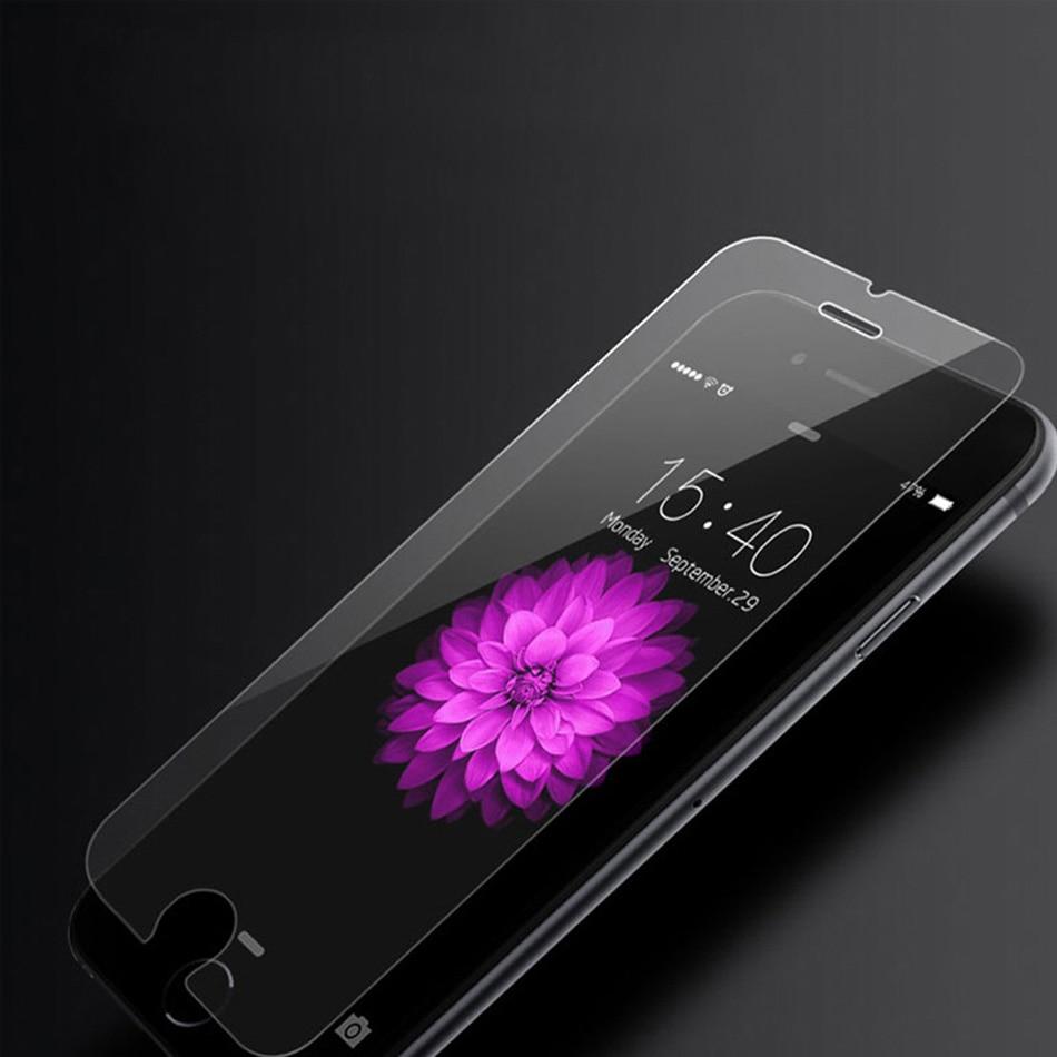 10 pcs/lot KEPHE Ultra Mince 0.3mm Anti-éclat En Verre Trempé Pour iPhone 6 6 s plus 7 5 5S 5c iPhone SE Écran Protecteur Film
