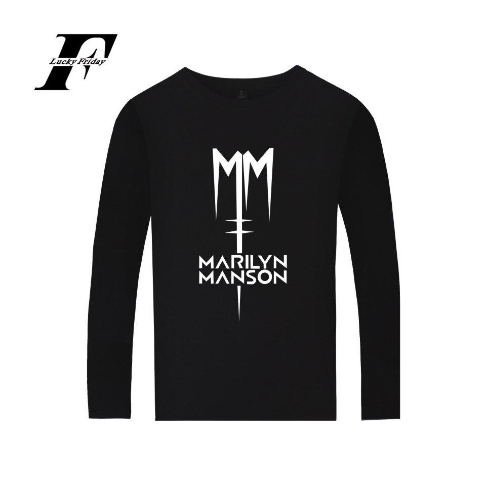 T-shirt Homme Musique Film Marilyn Manson Heavy Metal Unisexe Femmes S M L XL 2XL