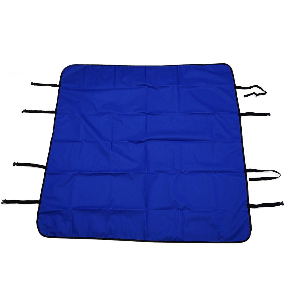 Pet Car Seat Cover Hammock Interior Mat Water-resistant Non-slip 135 <font><b>x</b></font> 135CM Universal Adjustable Straps Unique Hammock Design