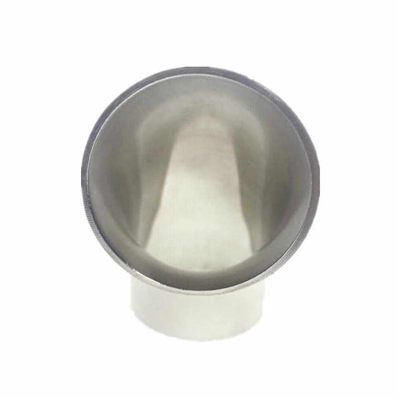 """1/2 """"-4-1/4"""" cotovelo de aço inoxidável 304 od 90 graus de solda sanitária cotovelo conexões de conexão de tubulação de polimento de grau alimentício"""