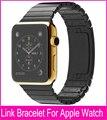 Espacio de lujo gris plata brazalete de eslabones Banda para Apple reloj 42 mm 38 mm de Metal de acero inoxidable correas de reloj envío gratis Banda