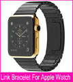 Luxury Space Gray Silver Link Bracelet Band For Apple Watch 42mm 38mm Stainless Steel Metal Watchbands Free Shipping  Banda