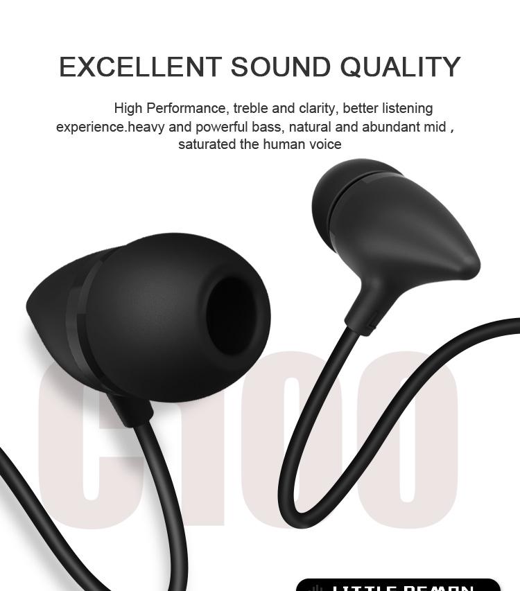 Uiisii C100 In Ear Headphones 1