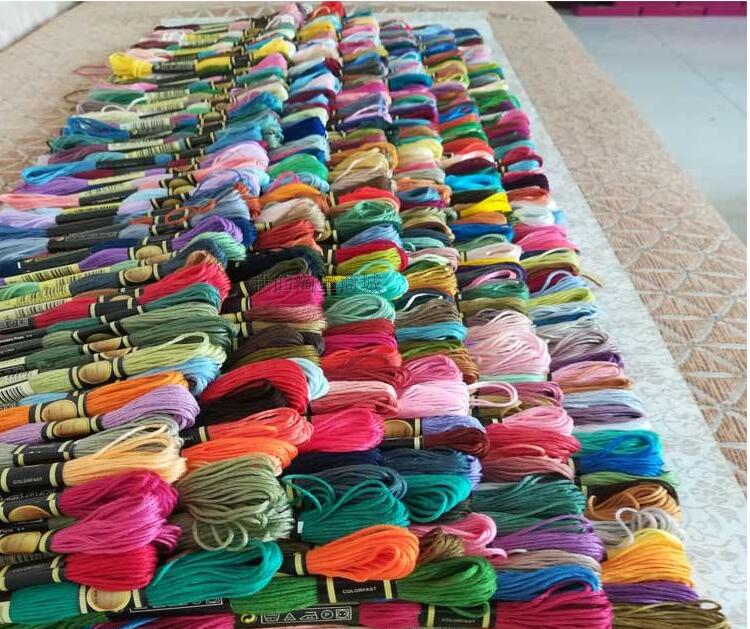 CXC 447 Colors Available Embroidery / Cross Stitch Floss Yarn Thread Mix Colors Or Choose Your Needed Colors