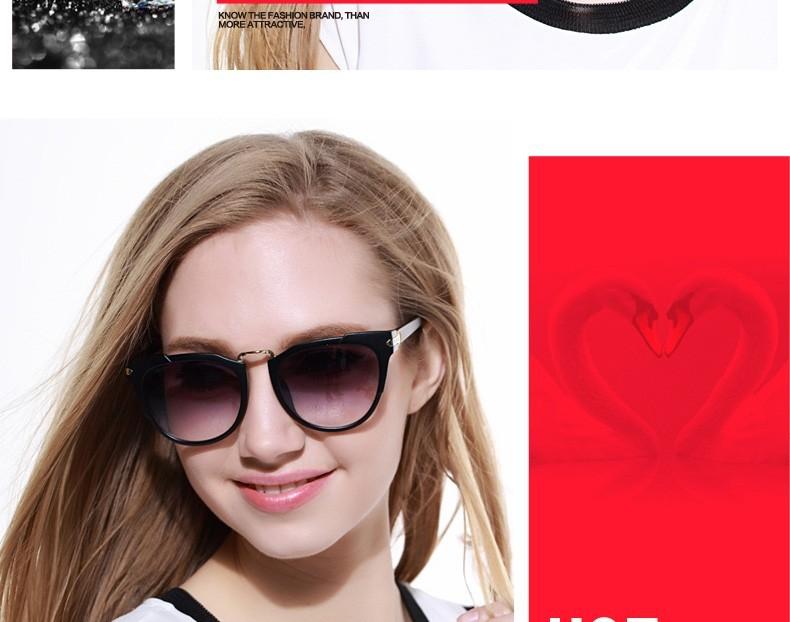 20090c4b41669 Umode New Erika Gradient Sunglasses for Ladies Women Mirror ...