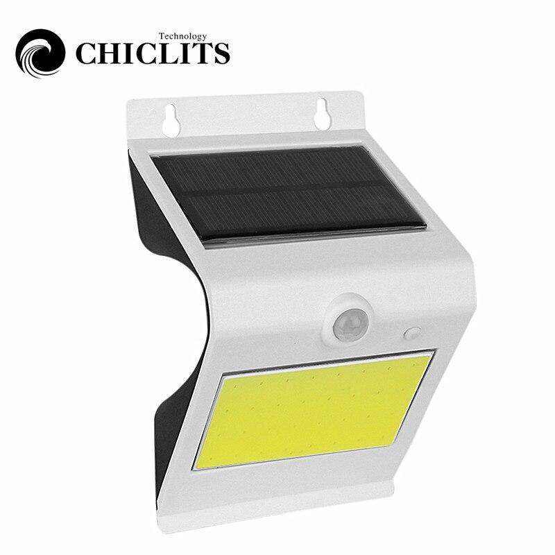 hot chiclits 38led ip65 ponte em arco de energia solar lampada luz sensor de movimento pir